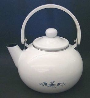 Pfaltzgraff Poetry Glossy Metal Kettle & Lid, Fine China Dinnerware   Glossy, Ne