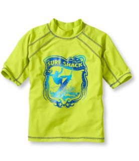 Boys Beansport Graphic Surf Shirt, Short Sleeve Surfer Little Boys
