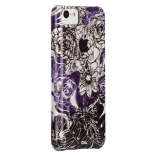 CaseMate Floral Lace Naked Print Cell Phone Case for iPhone 5C   Multicolor
