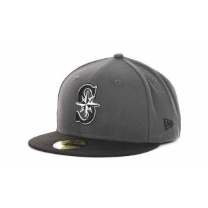 Seattle Mariners New Era MLB BW 2 Tone 59FIFTY Cap