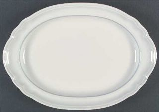 Pfaltzgraff Poetry Glossy 14 Oval Serving Platter, Fine China Dinnerware   Glos