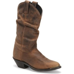 Double H Boot Womens Slouch Boot Tan Crazyhorse Boots   DH5252
