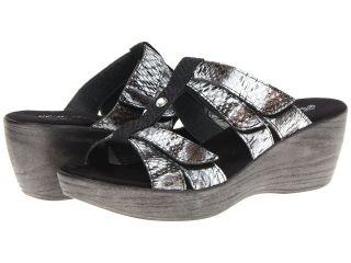 Helle Comfort Garden Womens Sandals (Silver)