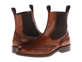 Massimo Matteo Double Gore Boot Wing Mens Shoes (Brown)