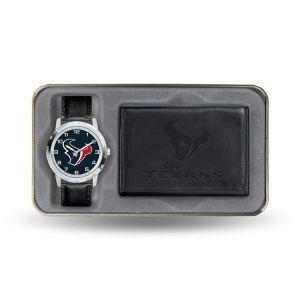 Houston Texans Rico Industries Watch and Wallet Gift Set