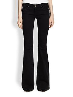 Paige Fiona Flared Jeans   Vintage Black