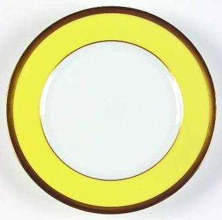 Chas Field Haviland Arc En Ciel Grape Fruit (Yellow) Bread & Butter Plate, Fine