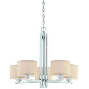 Dolan Designs DOL 2940 09 Tecido 5 Light Chandelier