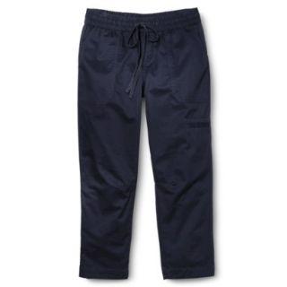 Merona Womens Woven Weekend Pant   Xavier Navy   XL