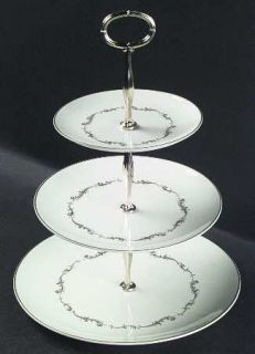 Royal Doulton French Provincial 3 Tiered Serving Tray (DP, SP, BB), Fine China D