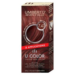 Umberto Beverly Hills U Color Italian Demi Hair Color   Red Cayenne 7.43