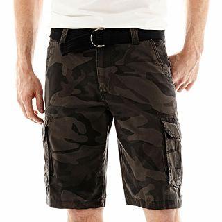 Lee Compound Cargo Shorts, Smoke Camo, Mens