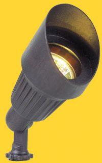 Corona Lighting CL501BK 50W Low Voltage Aluminum Mini Bullet Directional Light w/Shroud Black