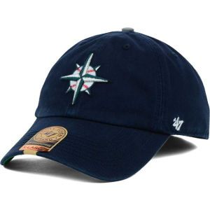Seattle Mariners 47 Brand MLB BP 47 FRANCHISE Cap