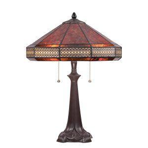 Quoizel MC1426TWT Mica Canasta Table Lamp