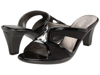 David Tate Eva Womens Slide Shoes (Black)