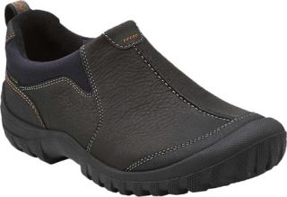 Mens Clarks Archeo Ease   Black Leather Casual Shoes