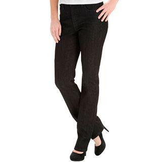 Lee Classic Fashion Straight Leg Jean, Black, Womens