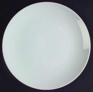 Noritake Angela White Salad Plate, Fine China Dinnerware   Cook N Serve, All Whi