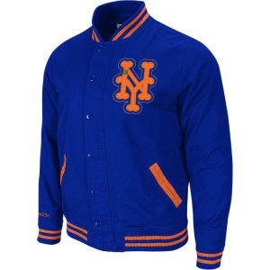 0f32158784d ... New York Mets MLB Mitchell and Ness Twill Jacket  new york yankees ...