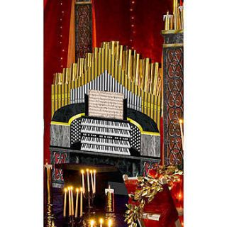 Music Of The Night Organ Standee