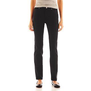 Lee Classic Fit Skinny Jeans, Black, Womens