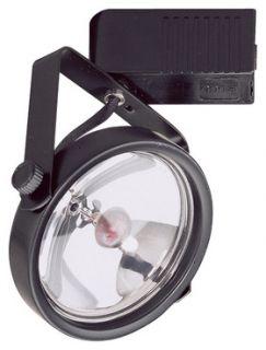 Elco Lighting ET565W Track Lighting, Low Voltage PAR36 Gimbal Ring Track Fixture, 50W White