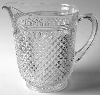 Anchor Hocking Miss America Clear 65 Oz Pitcher   Clear, Depression Glass