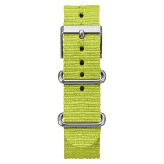 Timex Fullsize Weekender Replacement Strap   Lime Green