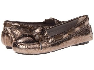 Aquatalia by Marvin K. Alta Womens Slip on Shoes (Gold)