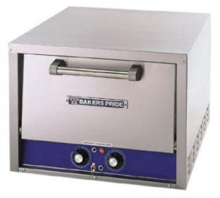Bakers Pride Countertop Pizza / Pretzel Oven, (2) 18 in Ceramic Decks, 120 V