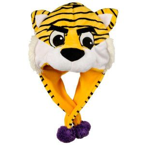 LSU Tigers Forever Collectibles Plush Mascot Dangle Hat