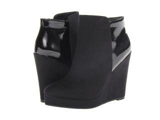 Michael Antonio Milena   Patent Womens Zip Boots (Black)