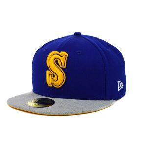 Seattle Mariners New Era MLB Team Heather 59FIFTY Cap