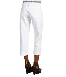 CJ by Cookie Johnson Mercy Crop Twill in White Womens Casual Pants (White)