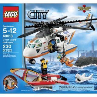LEGO City Coast Guard Helicopter 60013