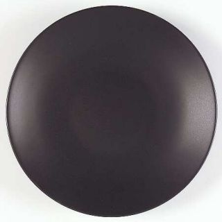 Home Worldview Asian Dinner Plate, Fine China Dinnerware   Black, White, Matte,G