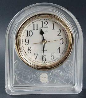 Christian Dior Dior Rose Quartz Clock   Frosted Rose