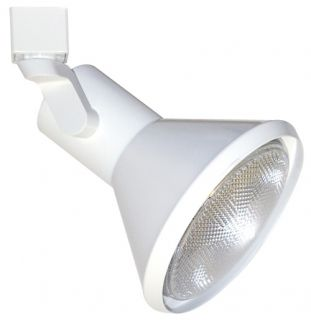 Elco Lighting ET659W Track Light, Line Voltage PAR38 Solid PAR Classic Track Fixture White