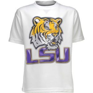 LSU Tigers Level Wear NCAA Liquid Metal Mascot T Shirt