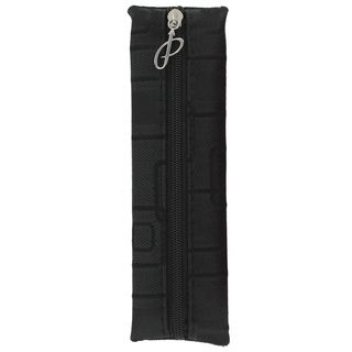Parker Black Fabric Zippered Pen Pouch (BlackMaterial FabricPen capacity 1 3 pensDimensions 6.5 inches long x 1.75 inches widePre consumer recycled content 0 percent Post consumer recycled content 0 percent Package Includes One (1) pen pouch FabricP