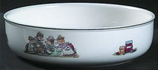 Villeroy & Boch Foxwood Tales 8 Round Vegetable Bowl, Fine China Dinnerware   B