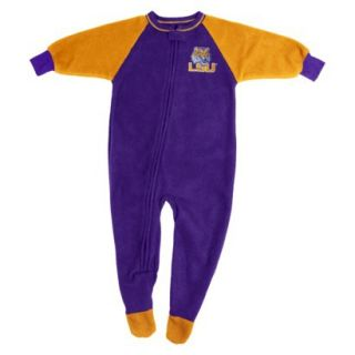 NCAA Male Sleepers LSU Footed   Team Color (0 3)