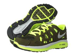 Nike Kids Dual Fusion Run 2 Shield Boys Shoes (Black)
