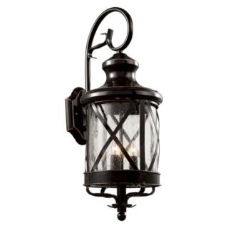 Tennessee 29 Outdoor Wall Light in Bronze