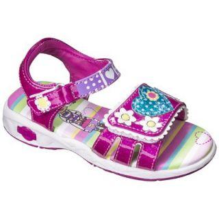 Toddler Girls Doc McStuffins Gladiator Sandals   Pink 9
