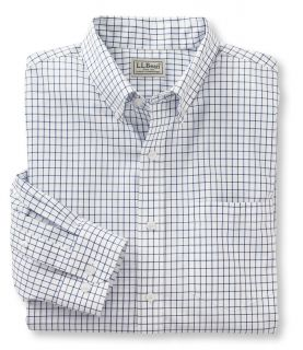 Wrinkle Resistant Check Shirt, Slightly Fitted