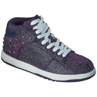 Girls Circo Gessa High Top Sneakers   Purple 3