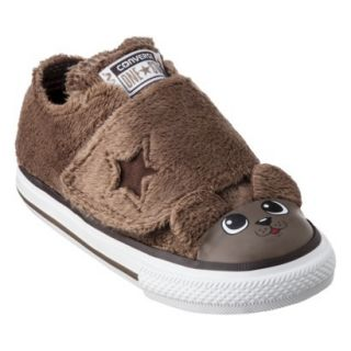 Toddler Converse One Star Puppy Sneaker   Brown 9