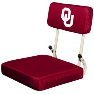 Logo Oklahoma Hard Back Stadium Seat   M